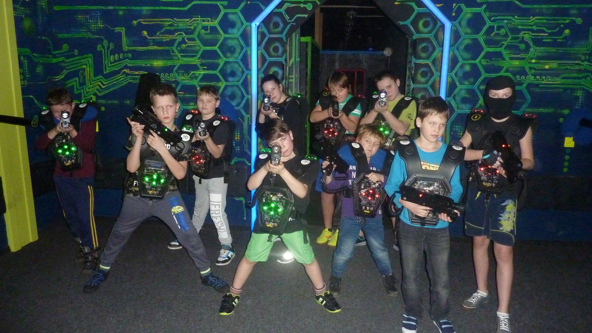 """Laser game – """"Znovu v akci"""""""