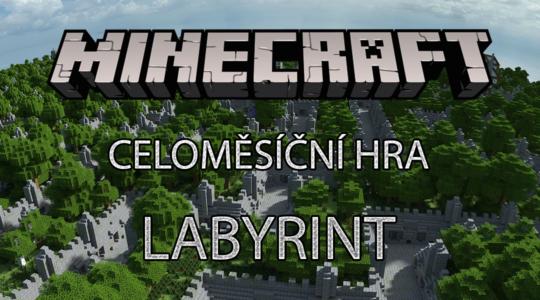 Soutěž Minecraft labyrint