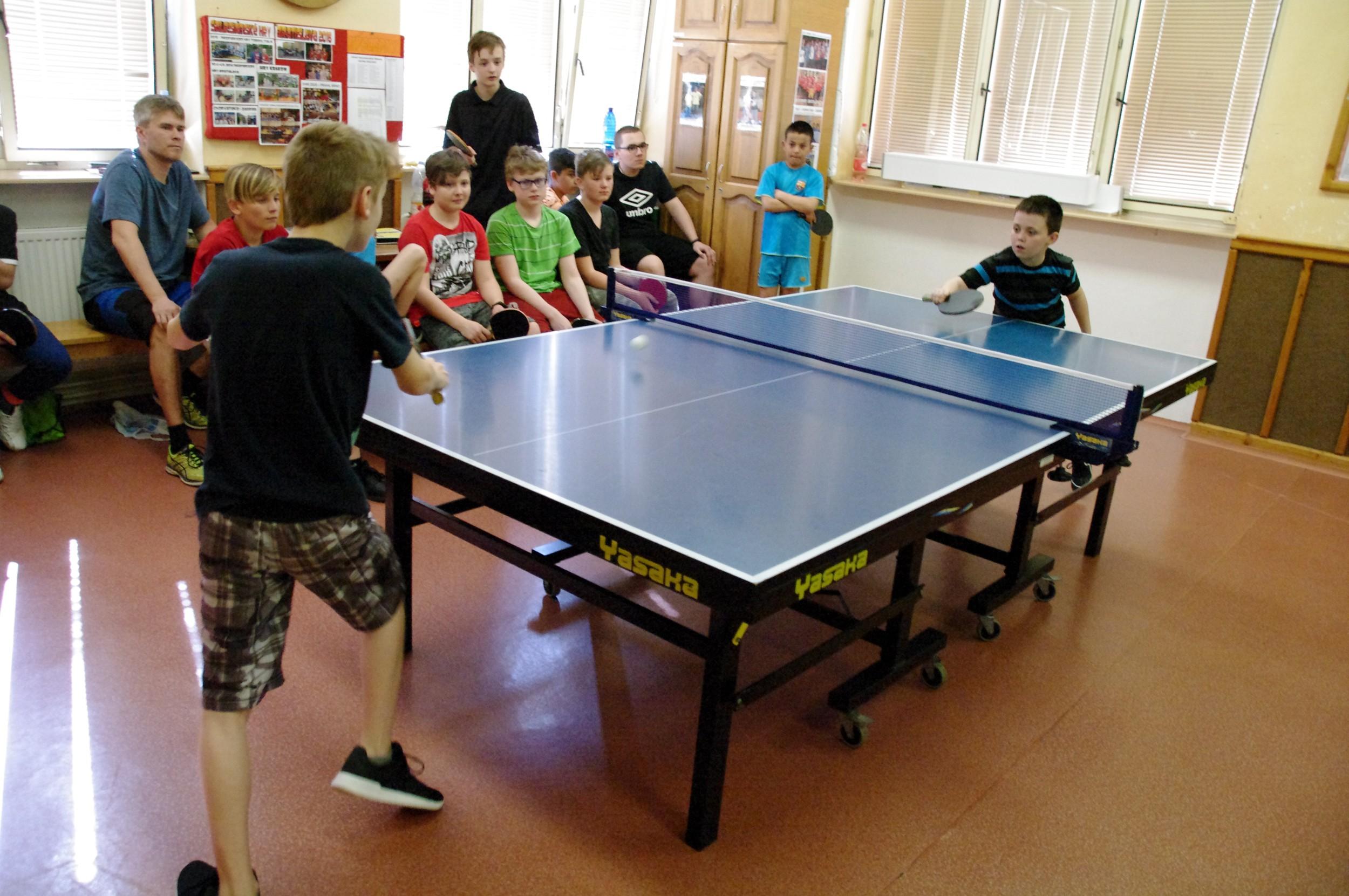 Stolní tenis Město vs. Maják vs. Přístav