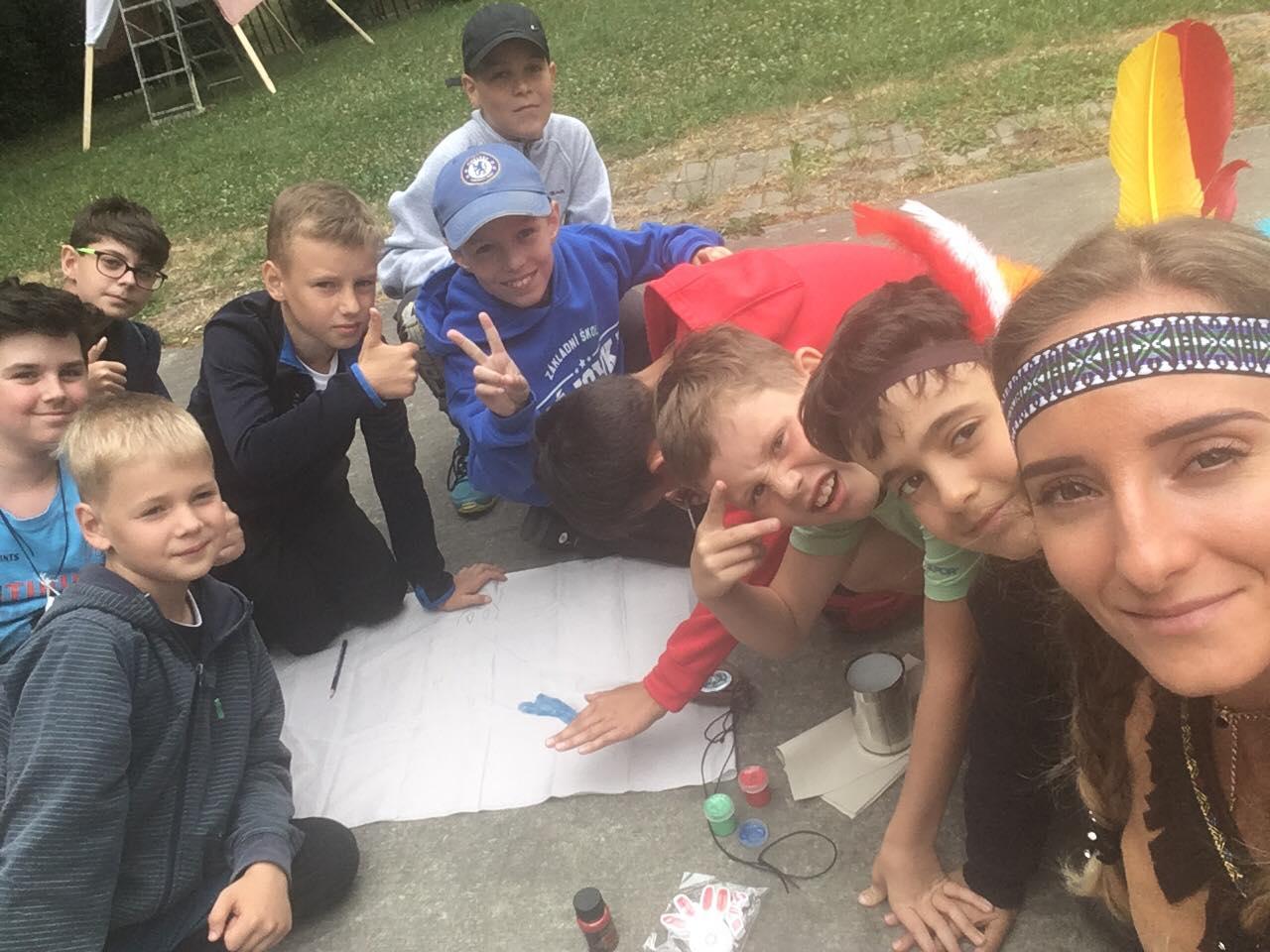 Indiánský tábor
