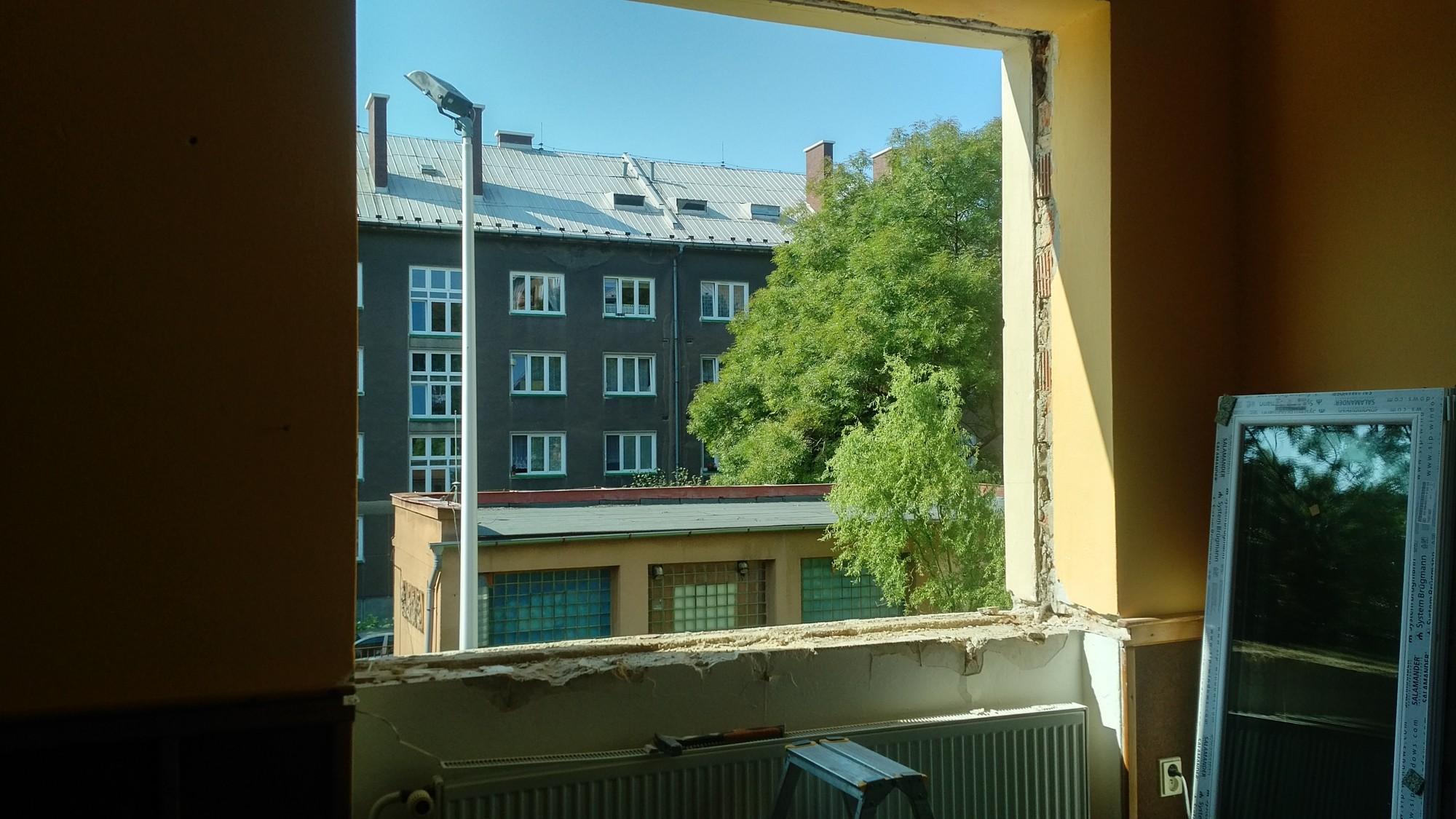 Výměna oken pobočka Město