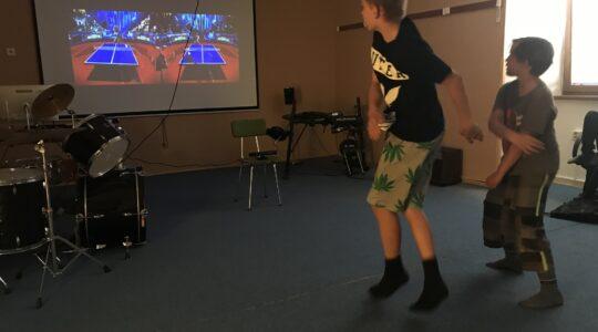 Turnaj v Kinectu na Šumbarku