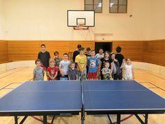 Na Šumbarku proběhl turnaj ve stolním tenise